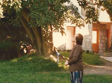 Maruxa no xardín