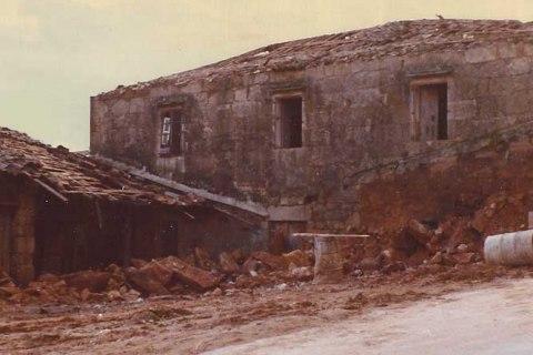 Casa de Santiago onde naceu Rosalía