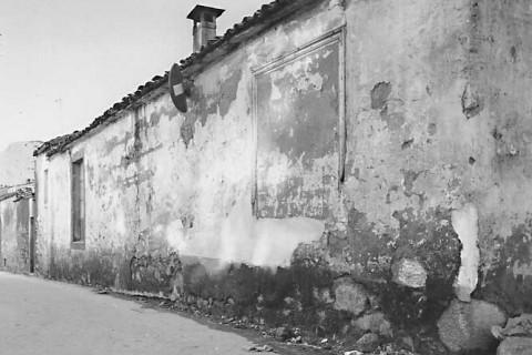 Traseira da casa natal en Compostela