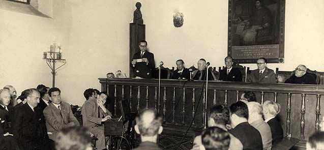 Constitución do Padroado da Fundación en 1949