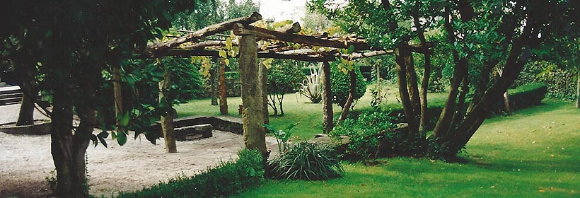 Parra no xardín